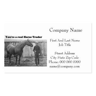 Foto cuarta del vintage del caballo y del tarjetas de visita