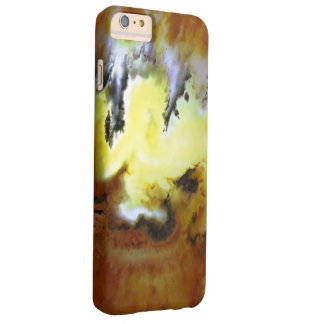 Foto cubierta de musgo de Rockhound de la ágata de Funda De iPhone 6 Plus Barely There
