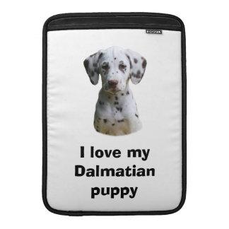 Foto dálmata del perro de perrito funda macbook air