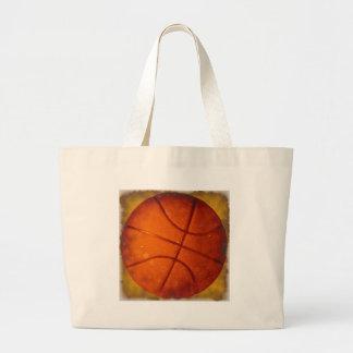 Foto dañada del baloncesto bolsa tela grande