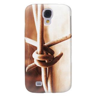 Foto de Barb de la cerca del alambre de púas Samsung Galaxy S4 Cover
