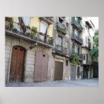 Foto de Barcelona, Barri Gòtic (cuarto gótico) Póster