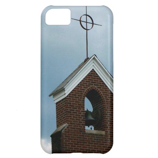 Foto de Bell de la cruz de la aguja de la iglesia