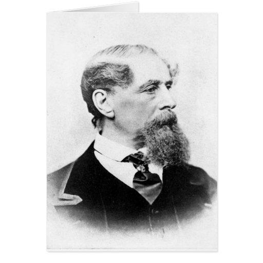 Foto de Charles Dickens Tarjeton
