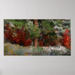 Foto de color otoñal del fuego de Utah Impresiones