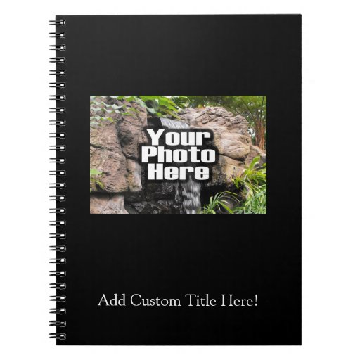 Foto de color personalizada cuadernos