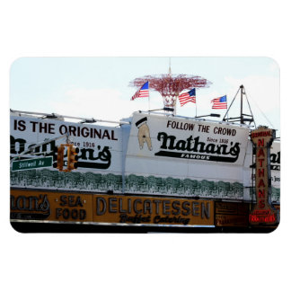Foto de Coney Island New York City Imán Foto Rectangular