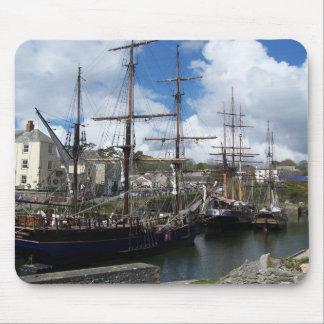 Foto de Cornualles del puerto de Charlestown de Alfombrillas De Raton
