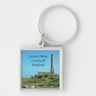 Foto de Cornualles Inglaterra de la mina de Levant Llavero Personalizado