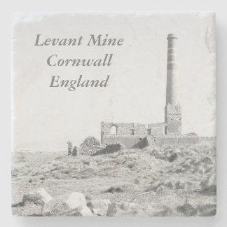 Foto de Cornualles Inglaterra de la mina de Levant Posavasos De Piedra