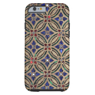 Foto de cristal Marruecos de la falsa de mosaico Funda Para iPhone 6 Tough