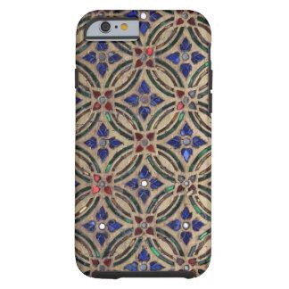 Foto de cristal Marruecos de la falsa de mosaico Funda Resistente iPhone 6