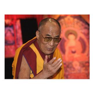 Foto de Dalai Lama/Dalai Lama Tíbet 3 Tarjetas Postales