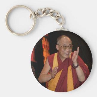 Foto de Dalai Lama/Dalai Lama Tíbet Llavero Redondo Tipo Pin
