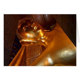 Foto de descanso del templo budista del ~ de Buda Tarjeta Pequeña