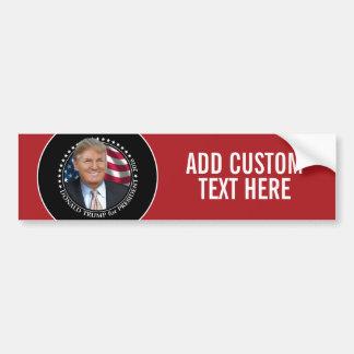 Foto de Donald Trump - presidente 2016 Pegatina Para Auto