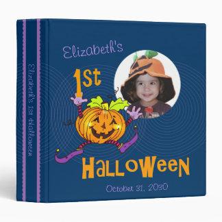 """¡! foto de encargo de la calabaza del st Halloween Carpeta 1 1/2"""""""