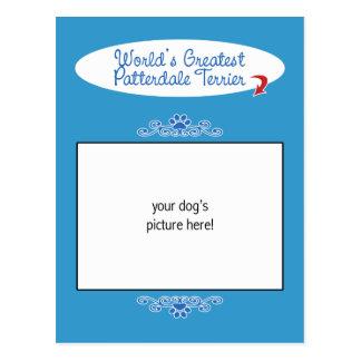 ¡Foto de encargo! Mundos el Patterdale más grande  Tarjeta Postal