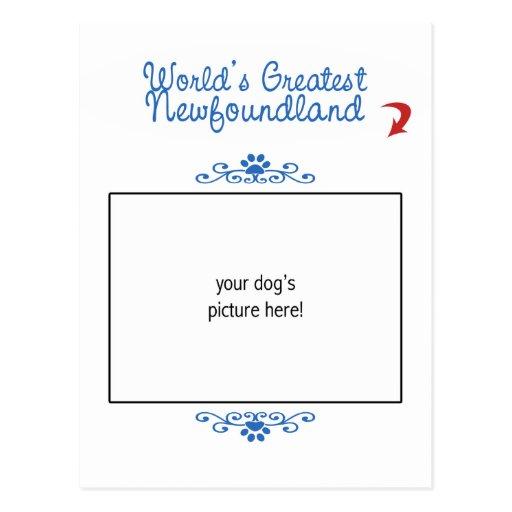 ¡Foto de encargo! Mundos Terranova más grande Tarjetas Postales