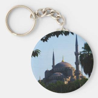 Foto de Hagia Sophia en Constantinopla Llavero Redondo Tipo Pin