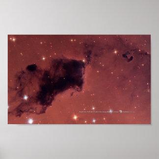 Foto de Hubble de la nebulosa Póster