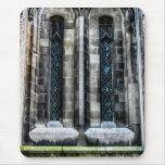 Foto de la arquitectura de la iglesia de New York Alfombrilla De Ratones