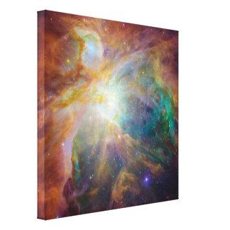 Foto de la astronomía de la nebulosa de Orión Impresión En Lienzo