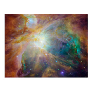Foto de la astronomía de la nebulosa de Orión Postal