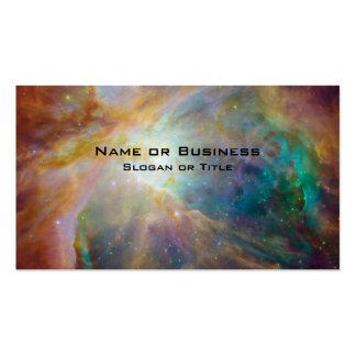 Foto de la astronomía de la nebulosa de Orión Tarjetas De Visita