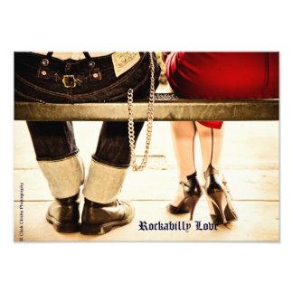 Foto de la bella arte del amor del Rockabilly