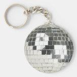 foto de la bola de discoteca llavero