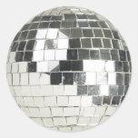foto de la bola de discoteca pegatinas redondas
