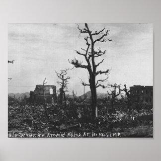 Foto de la bomba atómica de WWII de Hiroshima Impresiones