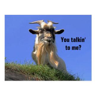 Foto de la cabra de Billy