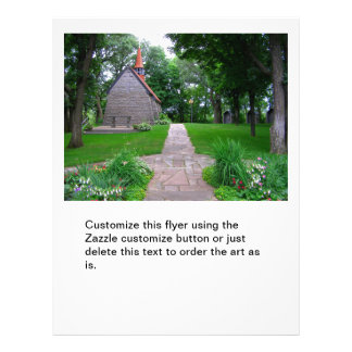 """Foto de la capilla del saltamontes del santuario d folleto 8.5"""" x 11"""""""