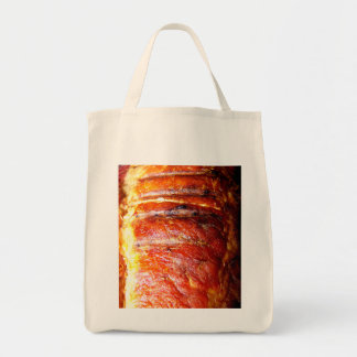 Foto de la carne asada del lomo de cerdo bolsas