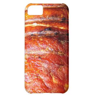 Foto de la carne asada del lomo de cerdo