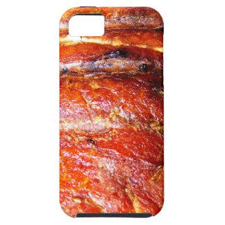 Foto de la carne asada del lomo de cerdo iPhone 5 Case-Mate protector