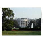Foto de la Casa Blanca Felicitacion