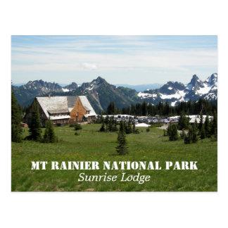 Foto de la casa de campo del parque nacional del postales