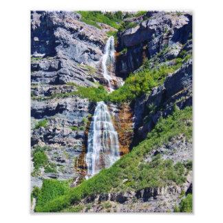 Foto de la cascada #1a- Framable de Utah Fotografías