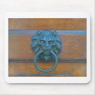 Foto de la decoración rústica de la puerta en tapete de ratón