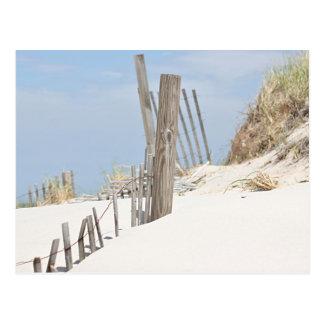 Foto de la duna de arena postales