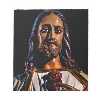 Foto de la escultura del Jesucristo Bloc De Notas