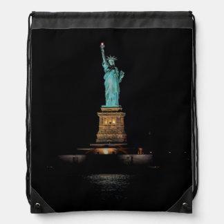 Foto de la estatua de la libertad en NYC Mochilas