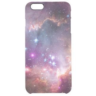 Foto de la estrella del inconformista del espacio funda clearly™ deflector para iPhone 6 plus de unc