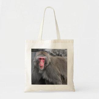 Foto de la fauna del mono de la nieve bolsa