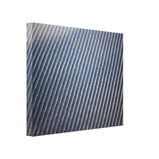 Foto de la fibra de carbono texturizada lona envuelta para galerias