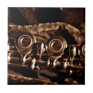 Foto de la flauta azulejos ceramicos