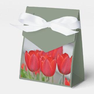 Foto de la flor de la primavera caja para regalos de fiestas